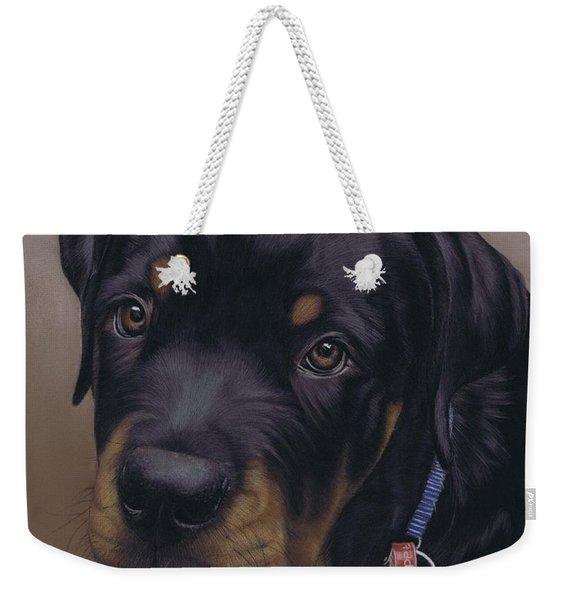 Rottweiler Dog Weekender Tote Bag
