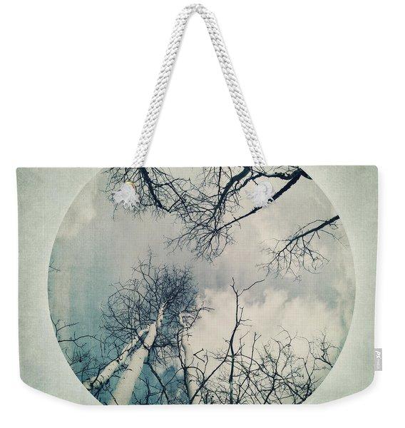 round treetops II Weekender Tote Bag