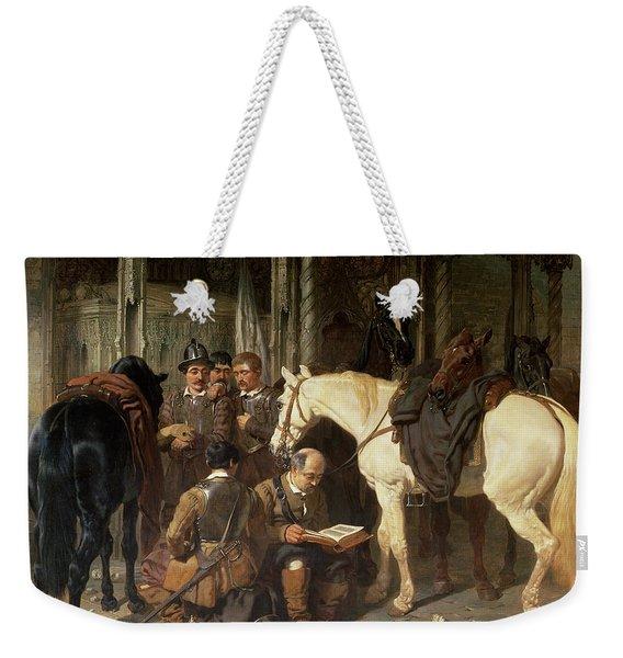 Roundheads At An Arundel Church, 1847-51 Weekender Tote Bag
