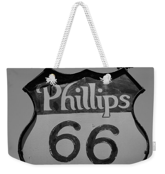 Route 66 - Phillips 66 Petroleum Weekender Tote Bag