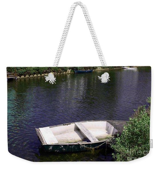 Row Boat Weekender Tote Bag