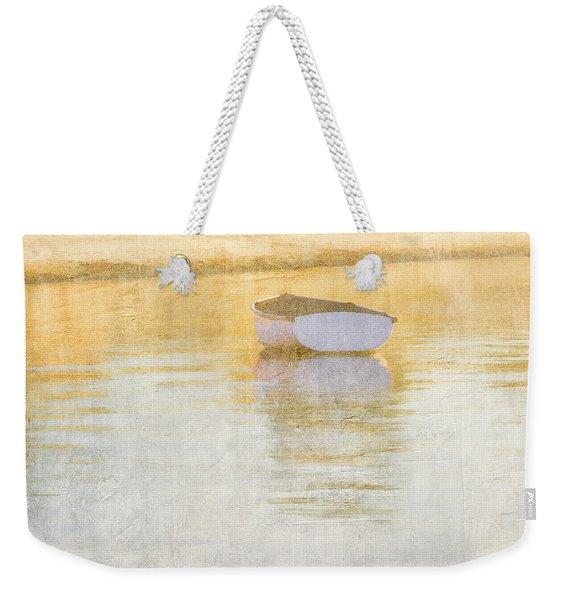 Rowboat In The Summer Sun Weekender Tote Bag