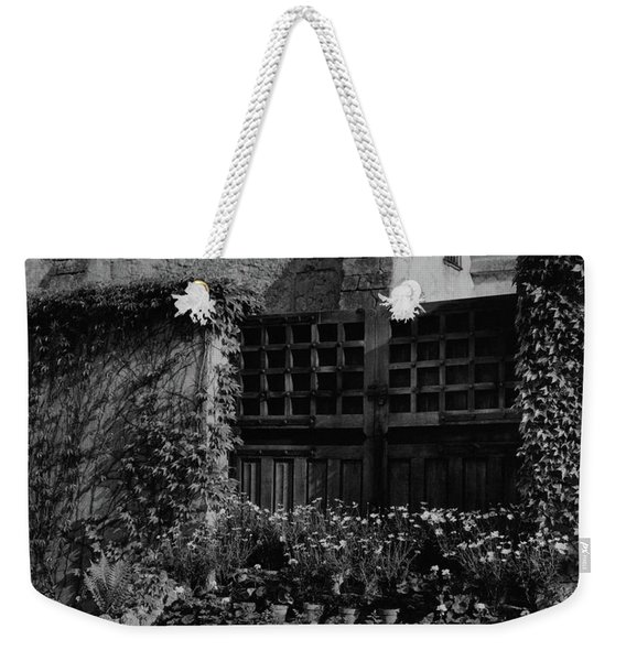 Rows Of Pot Plants Lined On The Steps Of A Garden Weekender Tote Bag