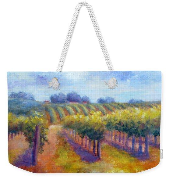 Rows Of Vines Weekender Tote Bag