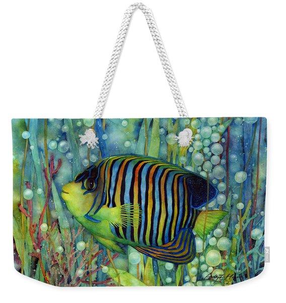 Royal Angelfish Weekender Tote Bag
