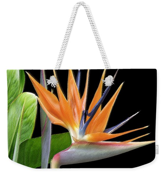 Royal Beauty I - Bird Of Paradise Weekender Tote Bag