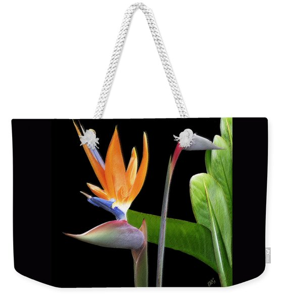 Royal Beauty II - Bird Of Paradise Weekender Tote Bag