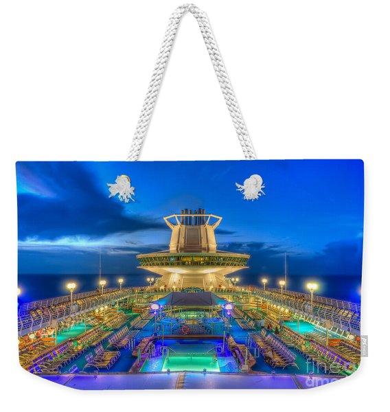 Royal Carribean Cruise Ship  Weekender Tote Bag