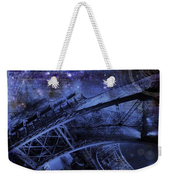 Royal Eiffel Tower Weekender Tote Bag