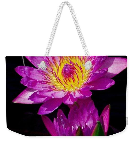 Royal Lily Weekender Tote Bag