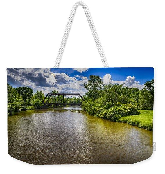 Royal River Weekender Tote Bag