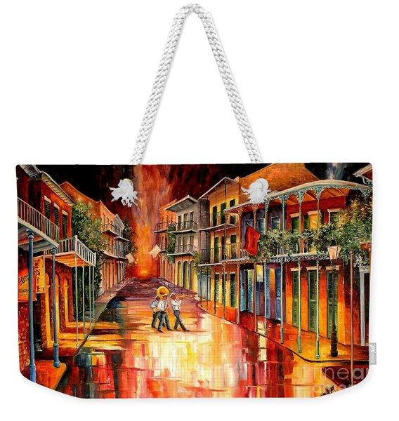 Royal Street Serenade Weekender Tote Bag