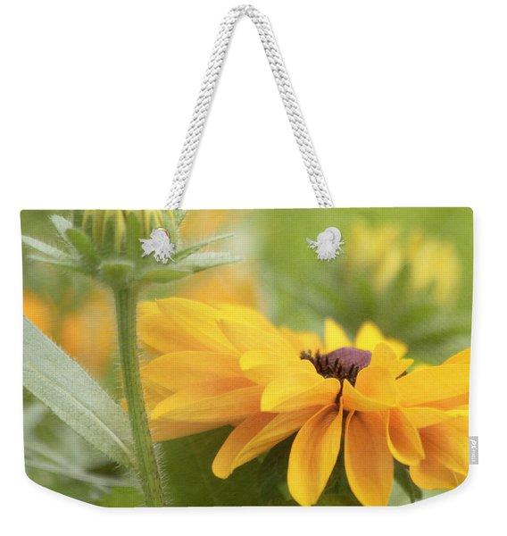 Rudbeckia Flower Weekender Tote Bag
