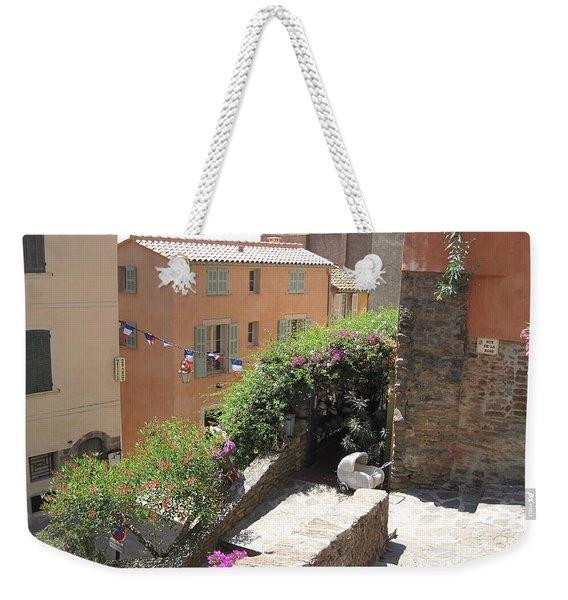 Rue De La Rose Weekender Tote Bag