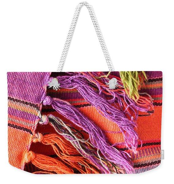 Rug Tassels Weekender Tote Bag