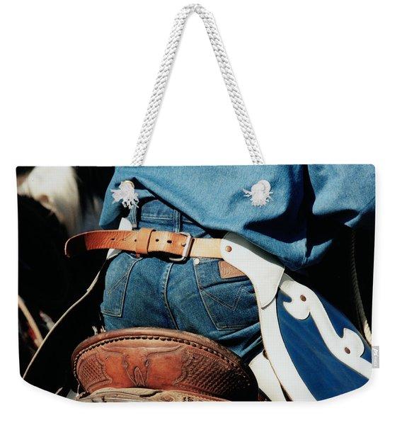 Rugged Wrangler Weekender Tote Bag