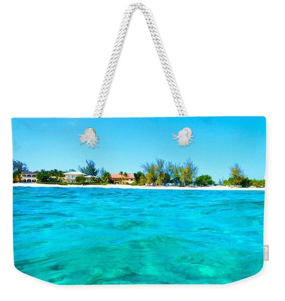 Rum Point Swim Weekender Tote Bag