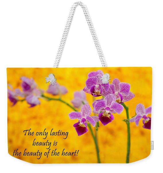 Rumi Quote-1 Weekender Tote Bag