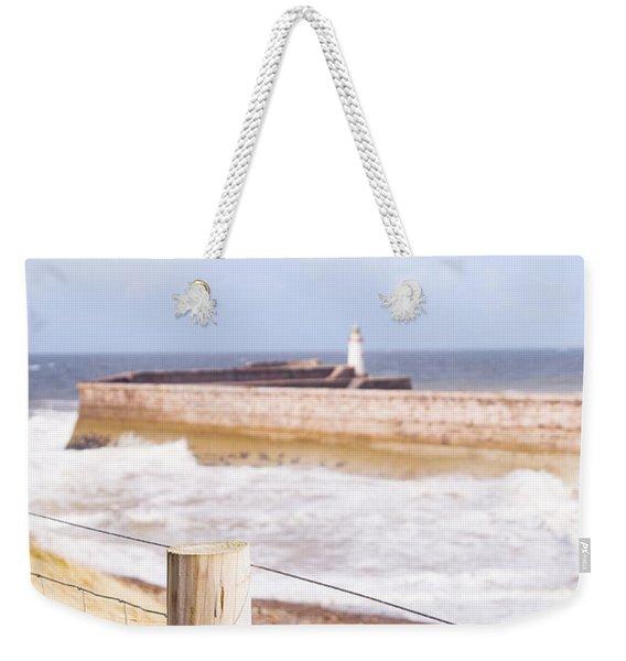 Rural Fence Weekender Tote Bag