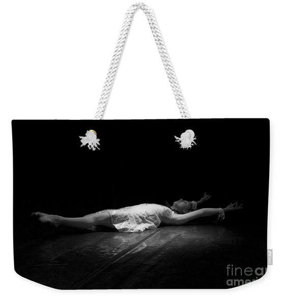 Russian Ballerina As A Melting Snowflake. Weekender Tote Bag