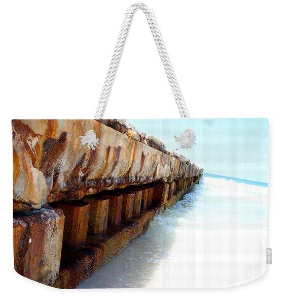 Rust Weekender Tote Bag