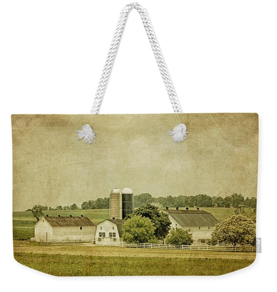 Rustic Farm - Barn Weekender Tote Bag