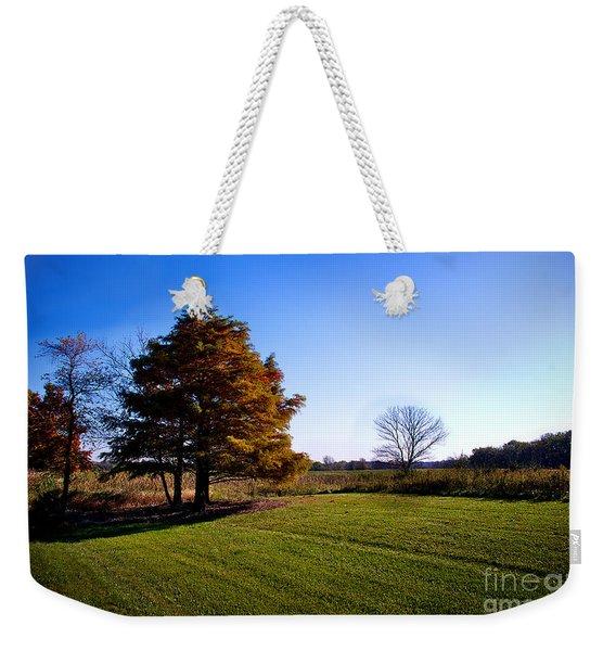 Rustic Glory Weekender Tote Bag