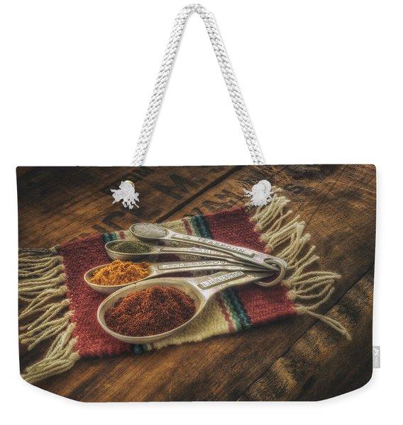 Rustic Spices Weekender Tote Bag