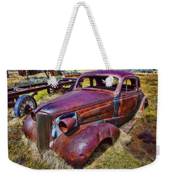 Rusting Away Auto Weekender Tote Bag