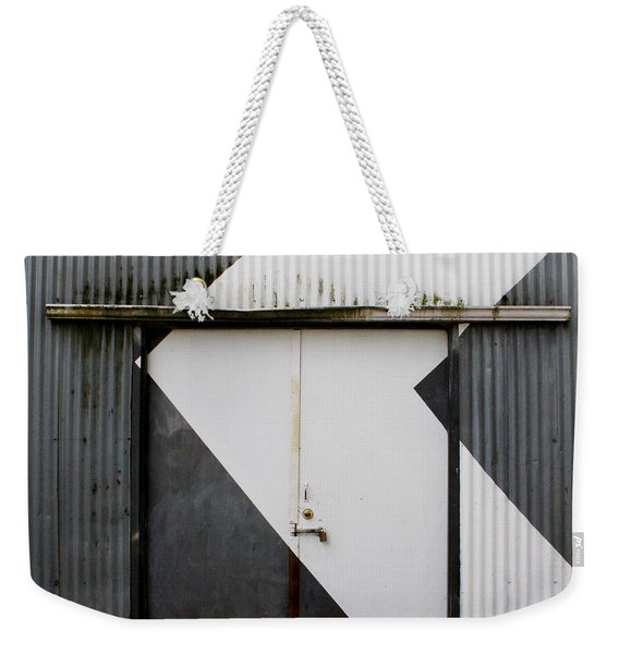 Rusty Door- Photography Weekender Tote Bag