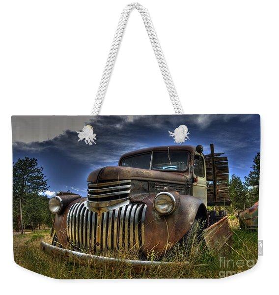 Rusty Relic Weekender Tote Bag
