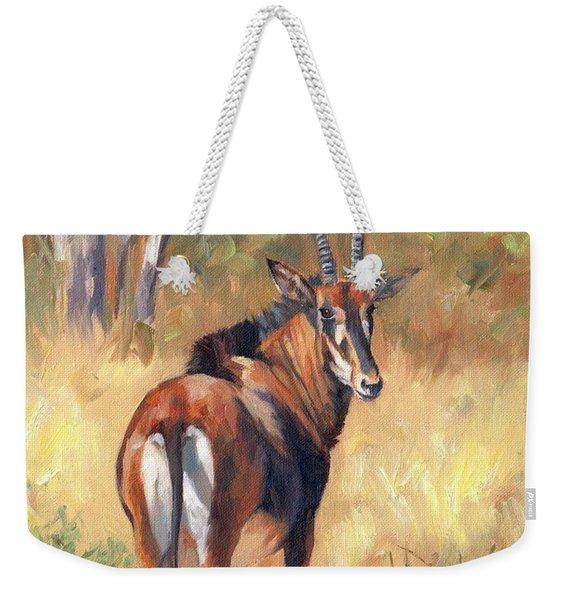 Sable Weekender Tote Bag