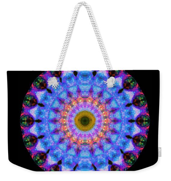Sacred Crown - Mandala Art By Sharon Cummings Weekender Tote Bag