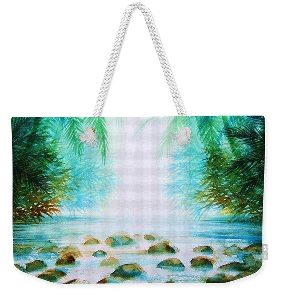 Sacred Pools Weekender Tote Bag