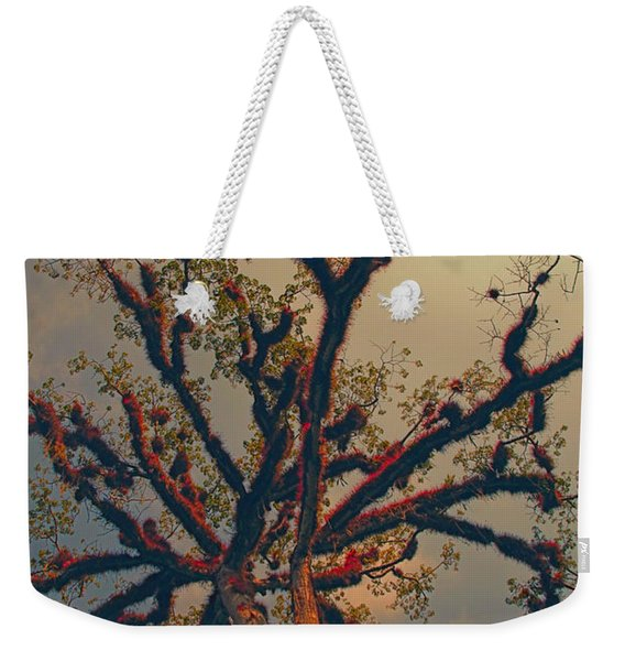 Sacred Tree Weekender Tote Bag