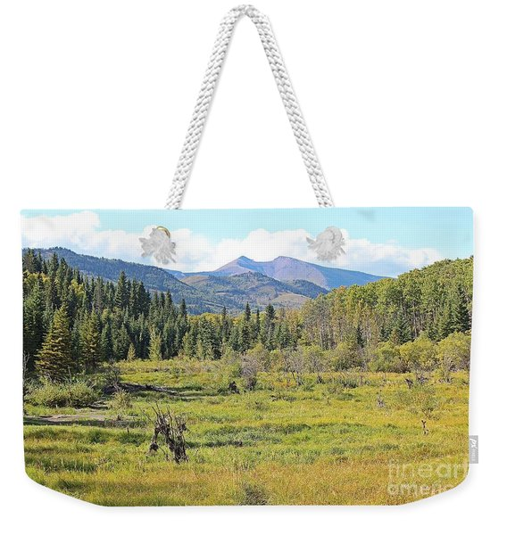 Saddle Mountain Weekender Tote Bag