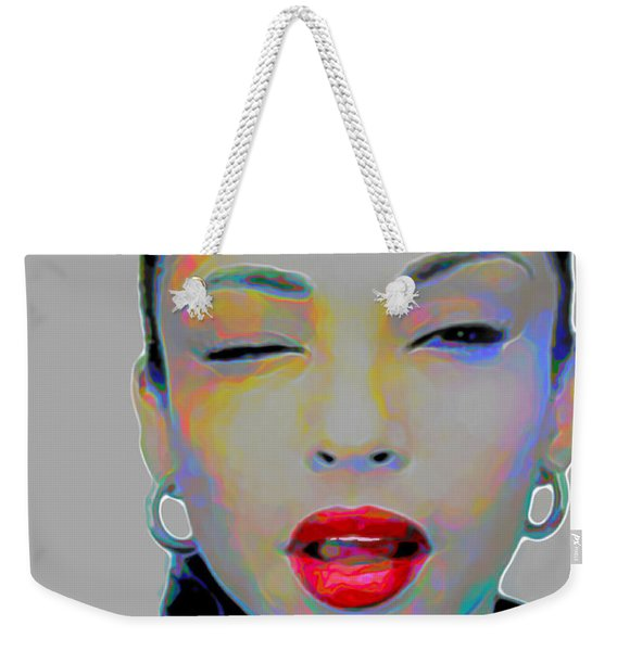 Sade 3 Weekender Tote Bag
