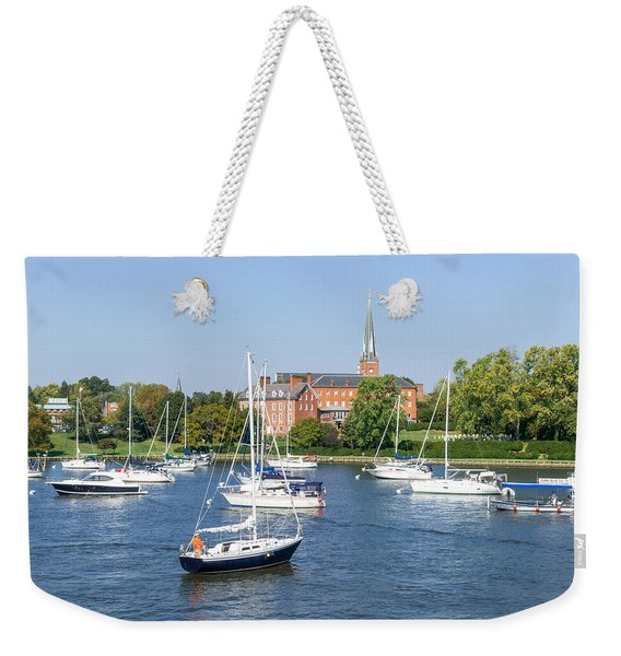 Sailboats By Charles Carroll House Weekender Tote Bag