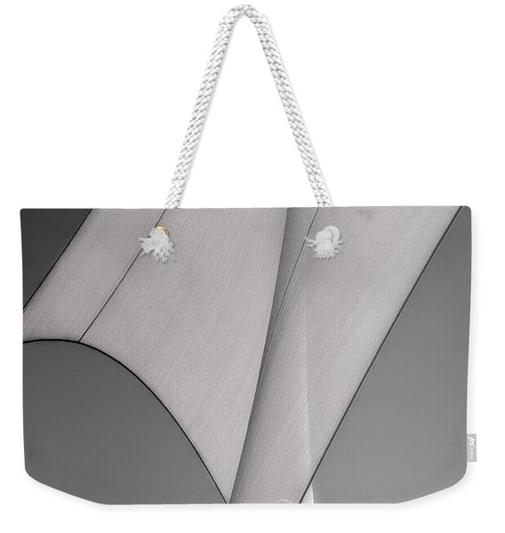 Sailcloth Abstract Number 3 Weekender Tote Bag