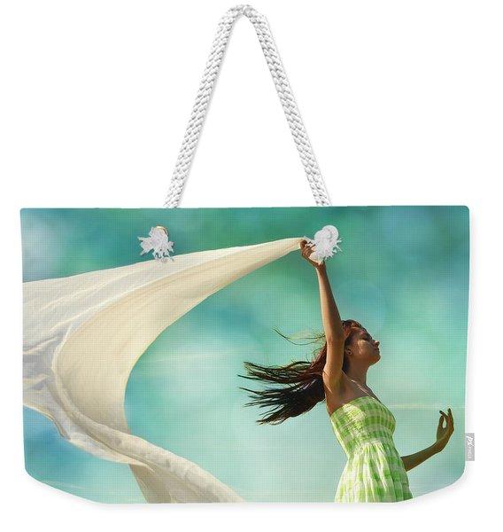 Sailing A Favorable Wind Weekender Tote Bag
