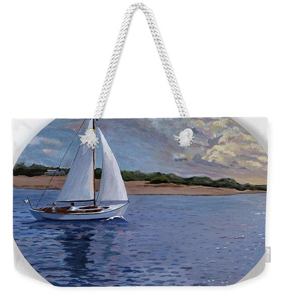 Sailing Homeward Bound Weekender Tote Bag