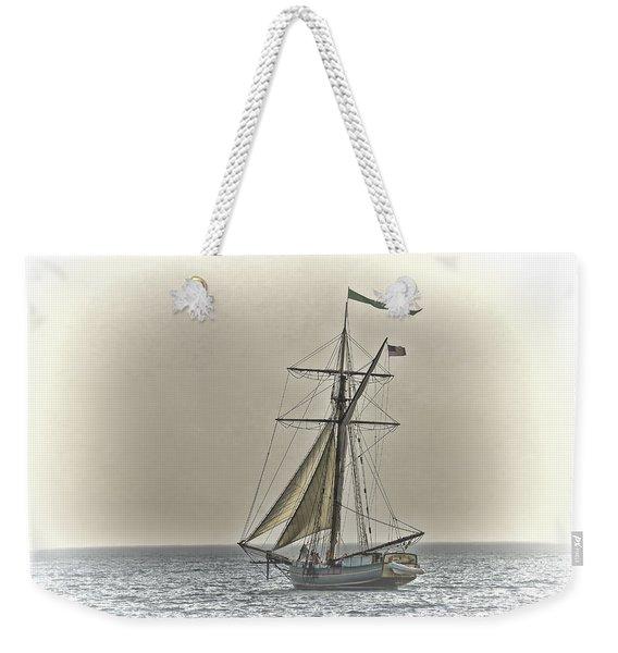 Sailing Off Weekender Tote Bag