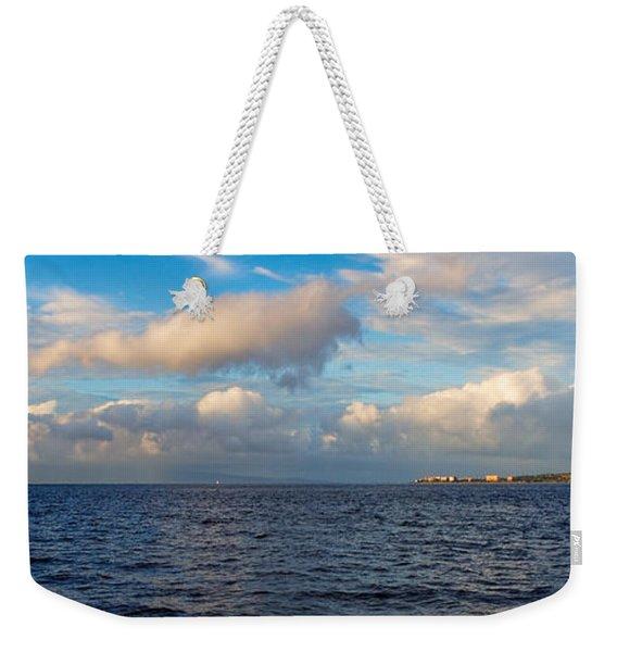 Sailing To Lahaina Weekender Tote Bag