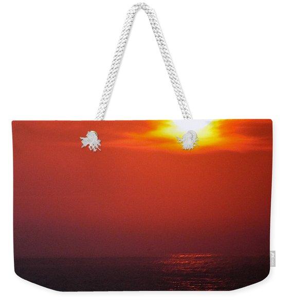 Sailor Take Warning... Weekender Tote Bag