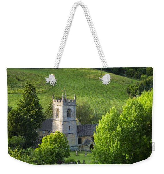 Weekender Tote Bag featuring the photograph Saint Andrews - Cotswolds by Brian Jannsen