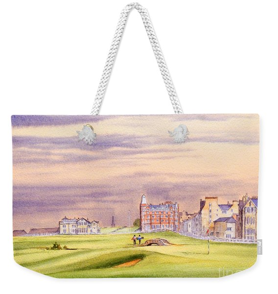 Saint Andrews Golf Course Scotland - 17th Green Weekender Tote Bag