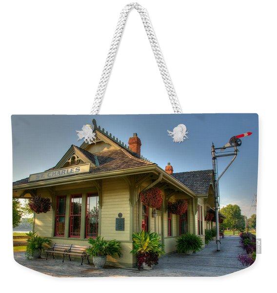 Saint Charles Station Weekender Tote Bag