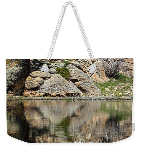 Saint Malo Chapel Weekender Tote Bag