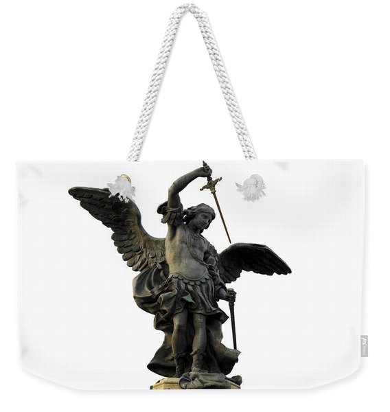 Saint Michael Weekender Tote Bag