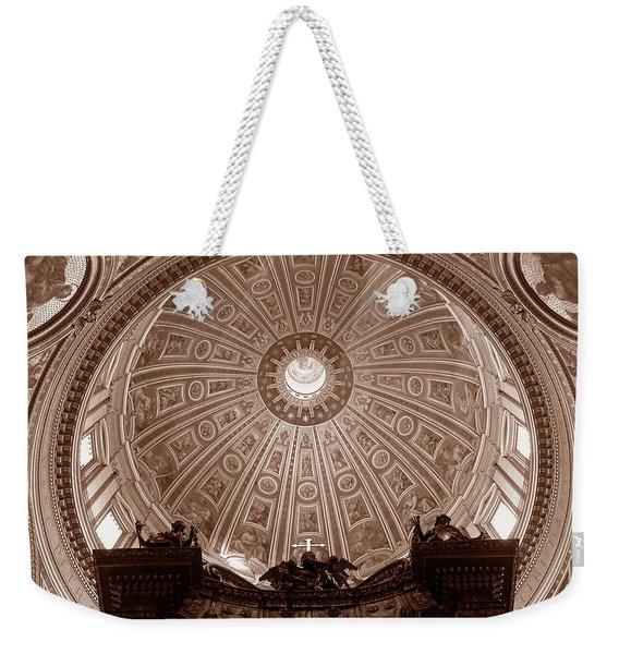 Saint Peter Dome Weekender Tote Bag